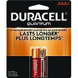 Duracell Quantum Alkaline AAA Batteries, 2-Count