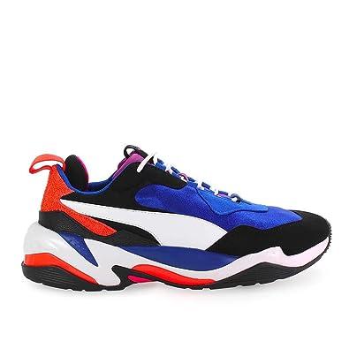 Scarpe da Uomo Sneaker Thunder 4 Life Blu Bianco Puma