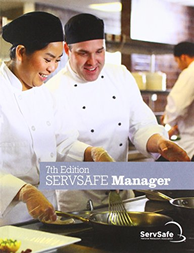 ServSafe ManagerBook with Answer Sheet (7th Edition) (Best Test Answers From Students)