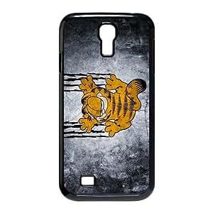 film cartoon Garfield Personalized Samsung Galaxy S4 I9500 Hard Plastic Shell Case Cover White&Black(HD image)