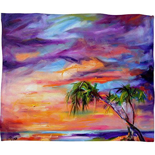 Deny Designs Ginette Fine Art Florida Palms Beach Fleece Thr
