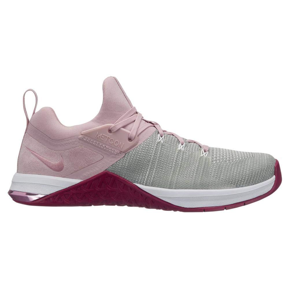 MultiCouleure (blanc  Plum Chalk  Matte argent  True Berry 150) Nike WMNS Metcon Flyknit 3, Chaussures de Fitness Femme 38 EU