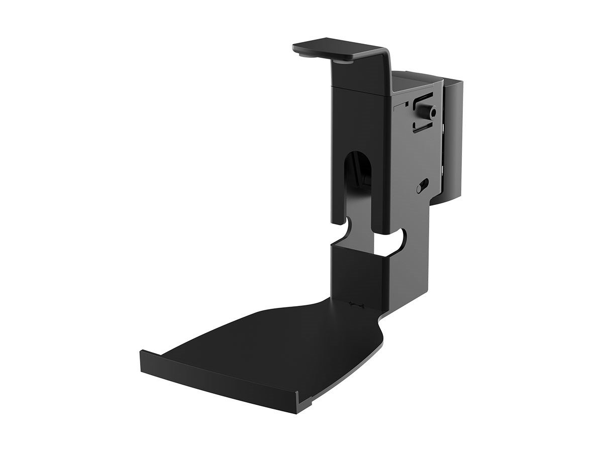 Monoprice Premium Fixed Wall Mount SONOS Play:5 Speakers - Black Cable Management Stable Base Home Theater 130828