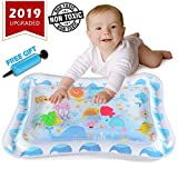 YOFUN Premium Tummy Time Mat for Infants & Toddlers, BPA Free Baby Water Play Mat - Perfect Play Activity Center for...