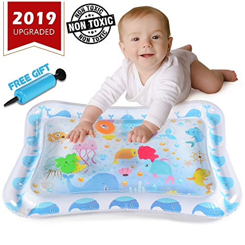 (YOFUN Premium Tummy Time Mat for Infants & Toddlers, BPA Free Baby Water Play Mat - Perfect Play Activity Center for Baby Growth and Stimulation )