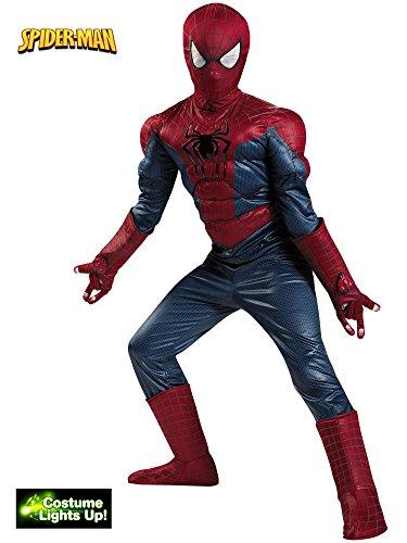 Disguise Marvel The Amazing Spider-Man 2 Movie Spider-Man Prestige Boys Costume, Small/4-6 ()