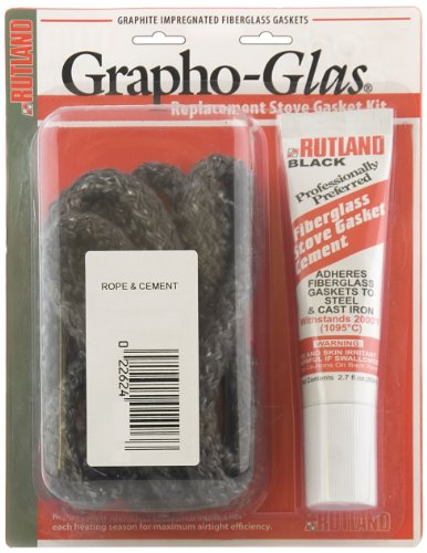 Rutland Grapho-Glas Gasket Replacement Kit-Cmt & 5/16