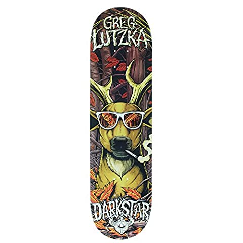 Darkstar Deer Hunter Skateboard Deck, Greg Lutzka, 8.125 - Darkstar Skate Decks