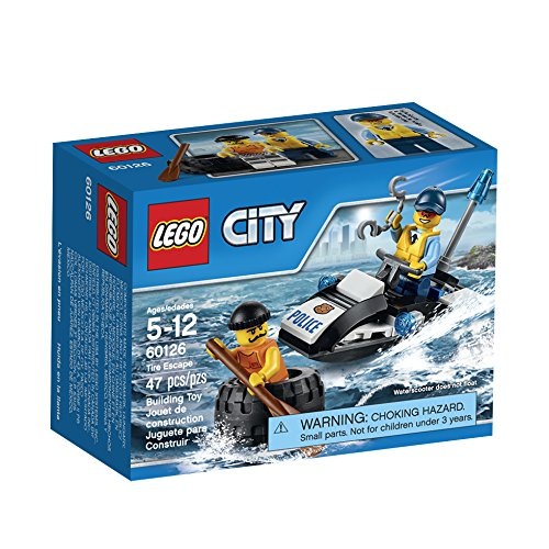 LEGO CITY Tire Escape 60126, 47 Pieces