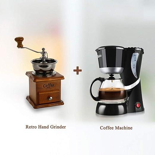 SYSWJ Cafetera Cafetera Antigoteo Coffe Drip-Drip Coffee Adecuada ...