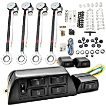 4x Car Window Automatic Power Kit Electric Roll Up For Dodge Caliber Challenger Charger Dakota Dart