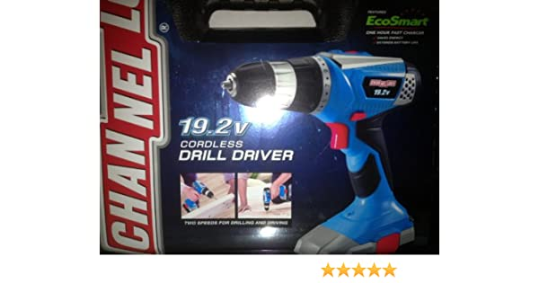 CHANNELLOCK 19.2V CORDLESS DRILL DRIVERS FOR WINDOWS