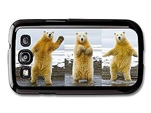 AMAF ? Accessories Dancing Funny Polar Bear case for Samsung Galaxy S3 Kimberly Kurzendoerfer