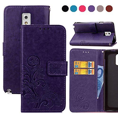 Note 3 Case,Samsung Note 3 Case,Wild Wolf [Stand