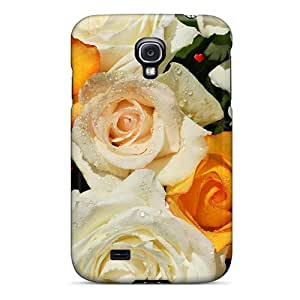 Whyme27 Galaxy S4 Hybrid Tpu Case Cover Silicon Bumper Bouquet Of Roses 2