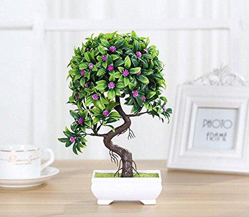 KUKI High-End künstliche Pflanzen Bonsai Home dekorative Blumen kreative gefälschte Topfpflanzen B