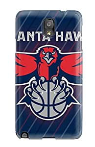 basketball nba atlanta hawks NBA Sports & Colleges colorful Note 3 cases
