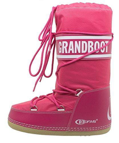Doposci Doposci Doposci 35 Boot Kefas Donna 37 37 37 37 Taglia Fuxia Uomo Bambino Grandboot Agwxq7