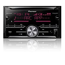 Pioneer FH-X730BS 2-Din CD Receiver with enhanced Audio Functions, Full-featured Pioneer ARC App Compatibility, MIXTRAX, Built-in Bluetooth, and SirusXM-Ready