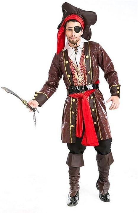 KAKAFASHION - Disfraz de Halloween para Hombre, diseño Pirata ...