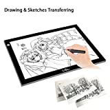 LitEnergy A4 Ultra-thin Portable LED Light Box tracer USB Power LED Artcraft Tracing Light Table Artists,Drawing, Sketching, Animation