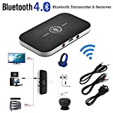 2in1 Bluetooth Transmitter & Receiver A2DP Car Home TV Stereo Audio Adapter DC5V