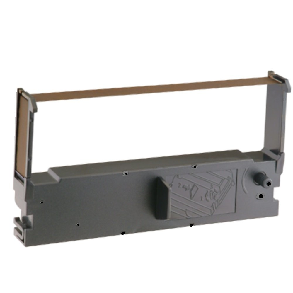 Black Ink Ribbon for Casio TK 2300, Epson ERC 32 Farbbandfabrik