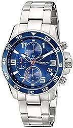 Stuhrling Original Men's 985.03 Concorso Quartz Chronograph Date Stainless Steel Bracelet Watch
