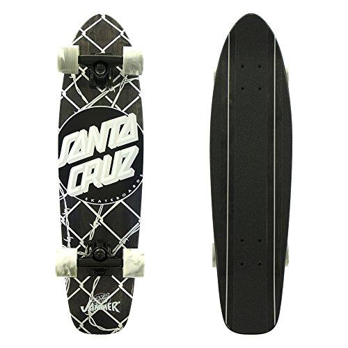 Santa Cruz Skateboards Barbed Wire Jammer Cruzer Skateboard