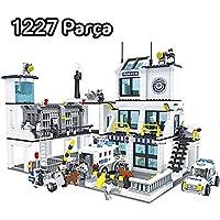 Ausini 1227 Parça Mega Oyuncak Polis Seti