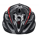 Super Light Integrally Road Bicycle Cycling Helmet With Luminous-black