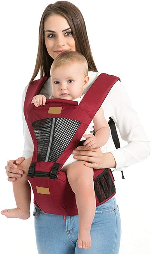 YLIK Baby Hip Seat Carrier, Baby Strap Labor Saving Baby Waist Stool Strap Adjustable Safety Carrier