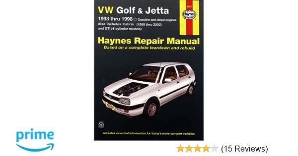 1998 Vw Cabrio Manual User Manual Guide