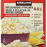 Kirkland Signature Microwave Popcorn, 3.3-Ounce, 44 Count