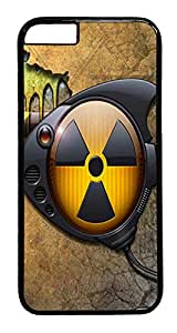 ACESR Toxic Fish iPhone 6 Hard Case PC - Black, Back Cover Case for Apple iPhone 6(4.7 inch)