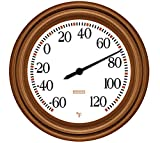 Springfield Decorative Thermometer with Copper Finish (8.5-Inch)
