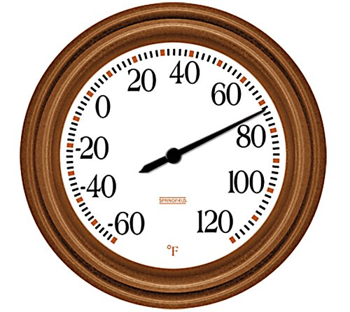 copper outdoor thermometer - 9