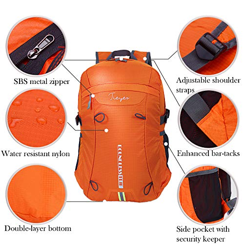 85ed57dd7e24 DETAILS. Tieyer Travel Camping Hiking Backpack Waterproof Hiking Daypack  Pocketable Bag