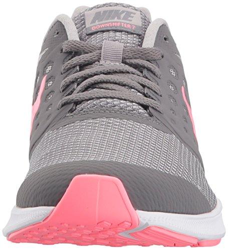 Nike Barn Downshifter 7 (gs) Löparskor Gunsmoke / Ned Puls - Atmosfär Grå