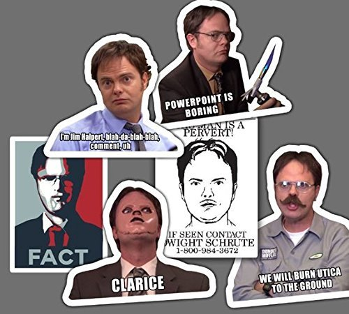 BEST OF DWIGHT-The Office Sticker Set - **Water Proof Stickers**