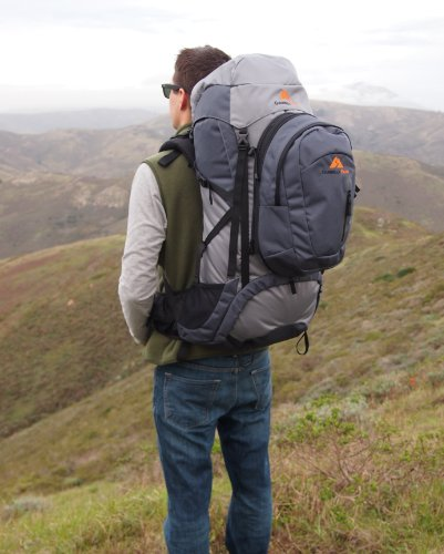 Guerrilla Packs Roundhouse Internal Frame Backpack, Middle Grey/Dark Grey by Guerrilla Packs (Image #7)