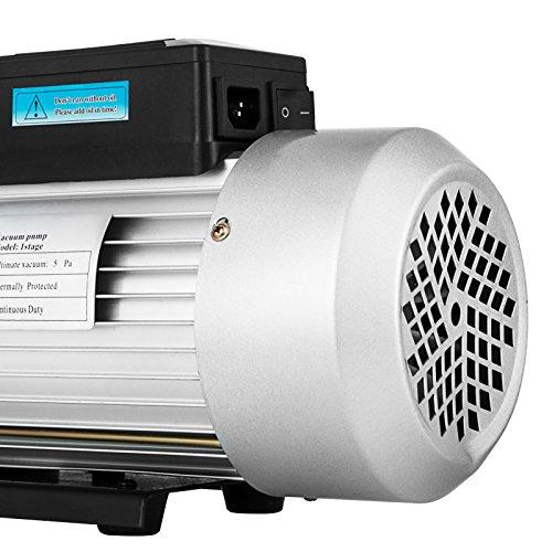VEVOR Rotary Vane Vacuum Pump 12CFM 1HP Single Stage HVAC