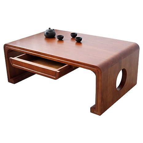 Amazon.com: Mesa de café mesa de estudio mesa baja de té con ...