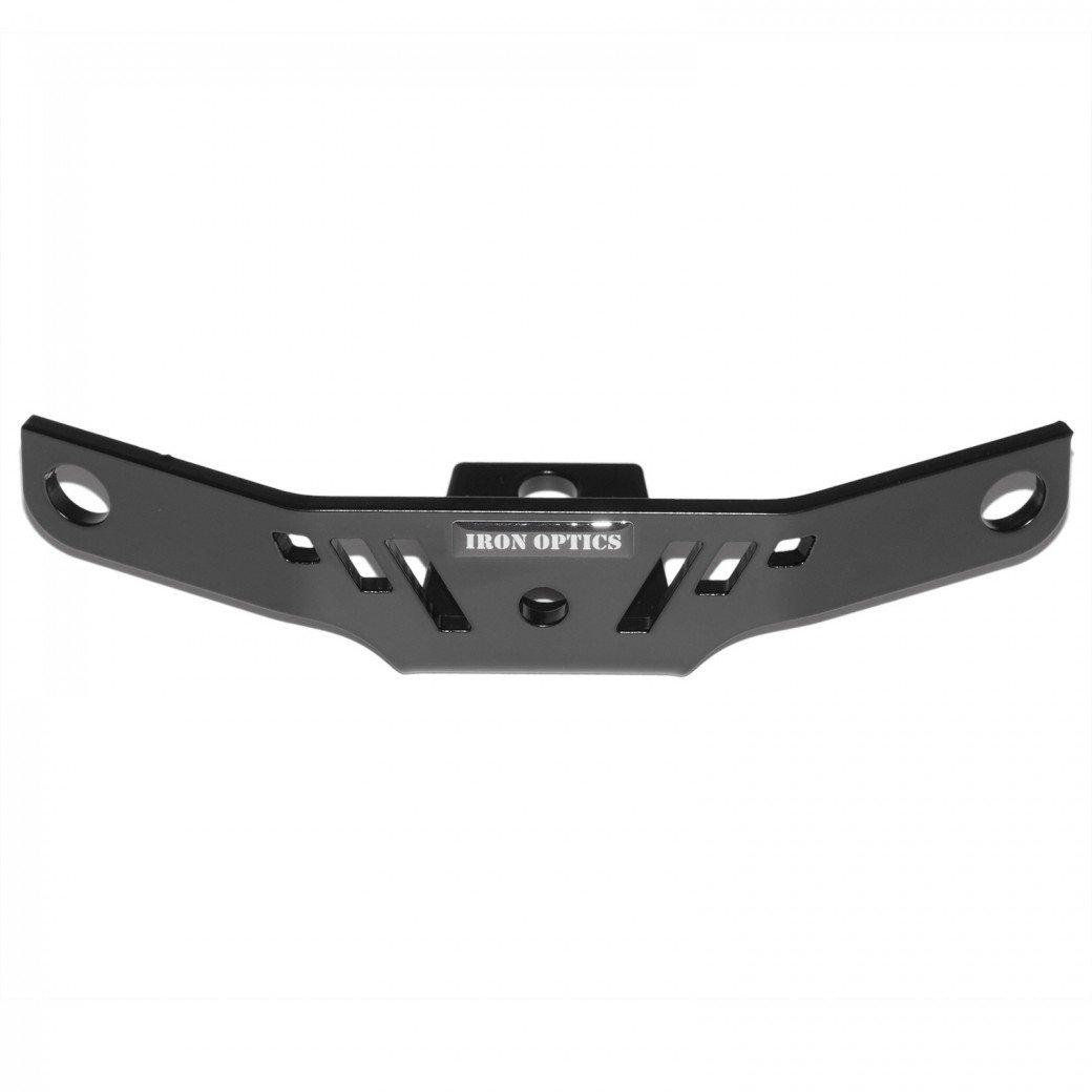 Iron Optics Motorrad Zündspulenhalter 1, Color:schwarz matt;Motorradmodell:Harley Davidson Iron 883