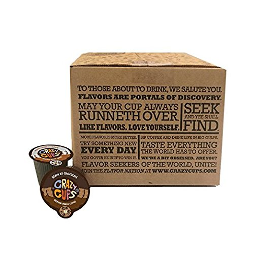 Amazon.com : Crazy Cups Seasonal Premium Hot Chocolate Single Serve Cups for Keurig K Cup Brewers Variety Pack Sampler, 50 Count : Grocery & Gourmet Food