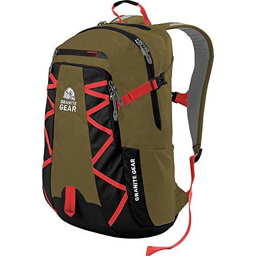 Granite Gear Manitou Backpack (Highland Peat/Black/Ember Orange)