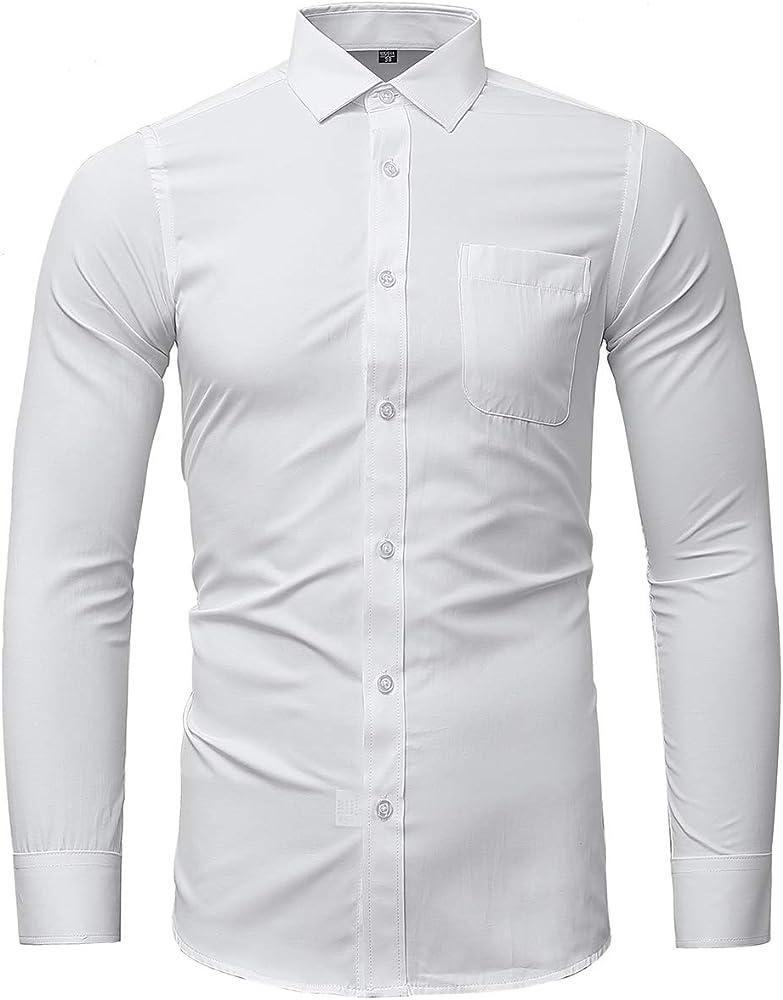 Camisas de Hombre, Blanco Slim Fit, Formal y Elegante, 40 de Fabricante: Amazon.es: Ropa y accesorios