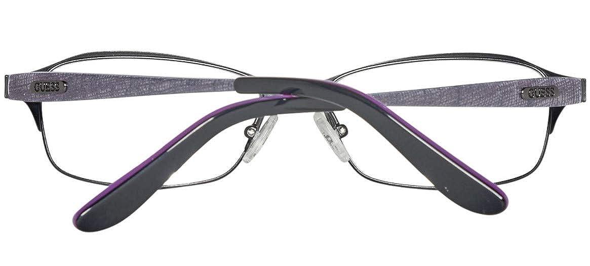 607b749662 Monturas de Gafas para Mujer Schwarz 51 GU2424_B84-51 Negro GUEX5 Brille  GU2424 51B84