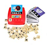 BOHS Alphabet Letters Card Word Game Learn English Language ABC Children Educational Toys Learning Literacy Fun