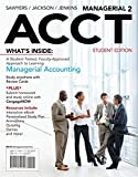 img - for Managerial ACCT2 (with CengageNOW with eBook Printed Access Card) book / textbook / text book